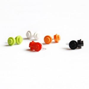 LEGO náušnice pecky
