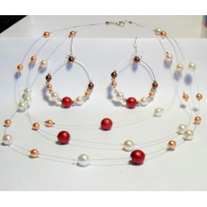 Perličkový set šípek
